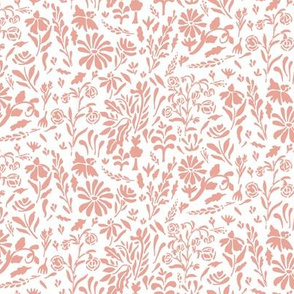 melimba OLD WORLD FLORAL pink