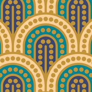 Geometric Pattern: Dotted Arch: Fantasy