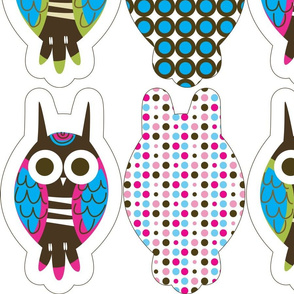Sweet Owl Plush