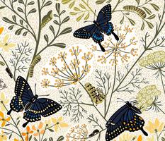 Black Swallowtail Habitat Large Scale