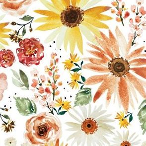 Sunflower Parade JUMBO-10.5x10.5