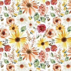 Sunflower Parade JUMBO-5.25x5.25