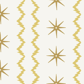 STARS AND STRIPES Ochre