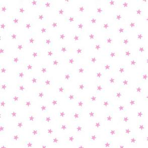 Skate Star Pink on White Mini