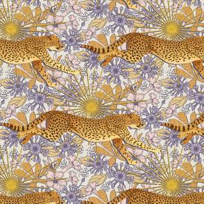 Golden Cheetah In The Sun-Large