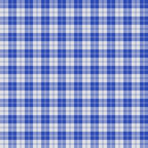 "Erskine dress tartan, 2"" bright royal blue"
