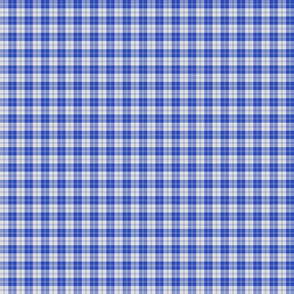 "Erskine dress tartan, 1"" bright royal blue"