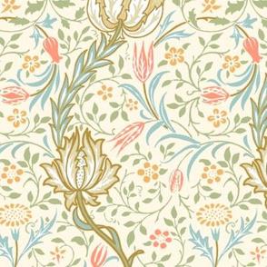 Flora ~ William Morris ~ Spring on Cosmic Latte