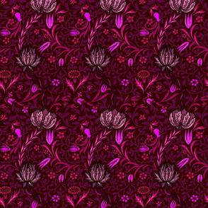 Flora ~ William Morris ~ Cheshire Cat on Portfolio