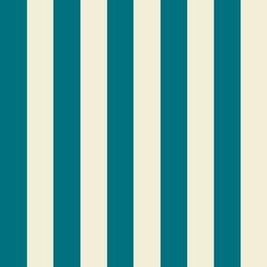 Stripe.Green & Cream