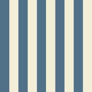 Stripe.Blue & Cream