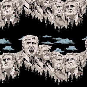 Trump Mt Rushmore
