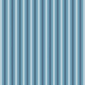 Three Blue Stripes