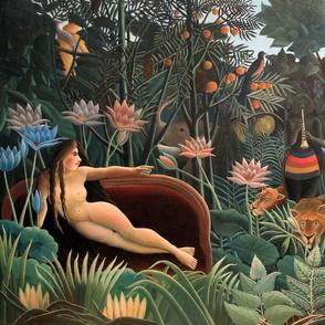 Henri Rousseau - The Dream -27x18in 68x45 cm