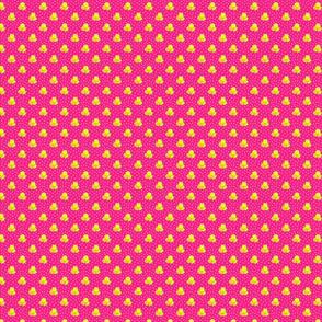 Petite pink dots triple berries