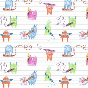 Doodle Monsters - Medium