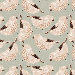 Bird Alphabet - F is for Finch