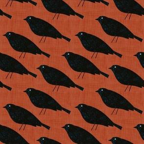 Bird Alphabet - B is for Blackbird