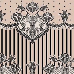 Dakota Floral Lace - pattern 1