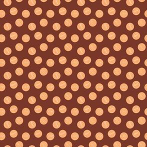 Calico coins chocolate