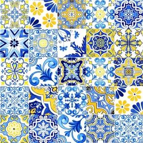 Portuguese Azulejos Mix