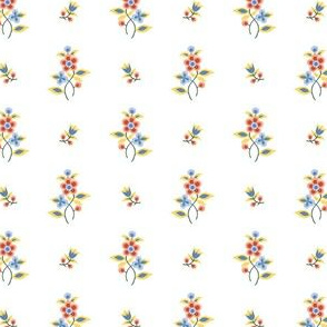 regency floral pattern