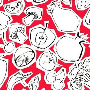 Fruits & Roots - Medium - Pomegranate
