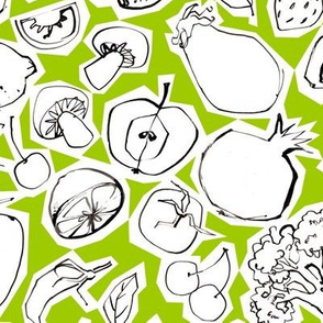Fruits & Roots - Medium - Pea