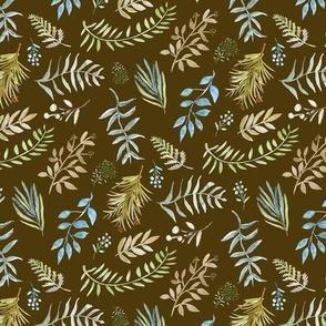 Botanical on Brown