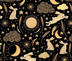 Harvest Moon Hares - Golden