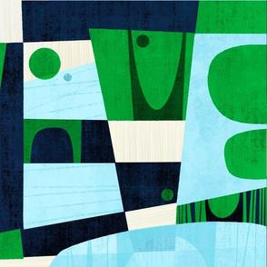 Greener Pastures - Repeat Pattern