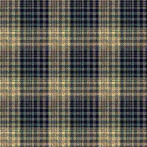 Warm and Green - Big and Little Blended Plaid