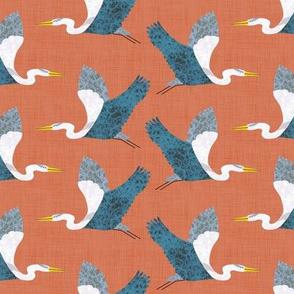 Bird Alphabet - H is for Heron