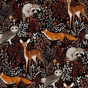 Brown-Forest-Animals