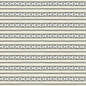 small - dots in white on natural horizontal