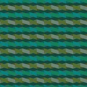 Diagonal weave - forest
