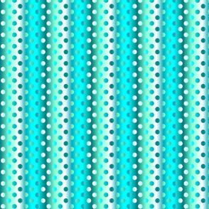 Medium ocean shades gradient dots