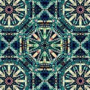 Teal Sensation: Bibi - Wallpapered