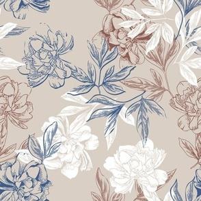 peonies flowers