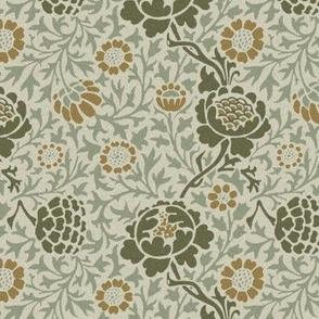 Grafton ~ William Morris ~ Original ~ Faux Flocked Finish