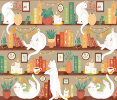 Library cats 2020 - day - large scale