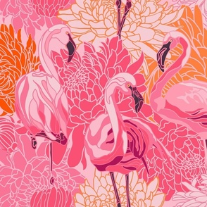 Naive Love in Pink