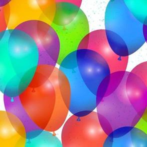 Bright Balloons by artfulfreddy