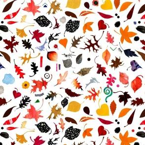 Autumn Leaves + Treasures