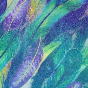 ✨Magical Watercolour Feathers