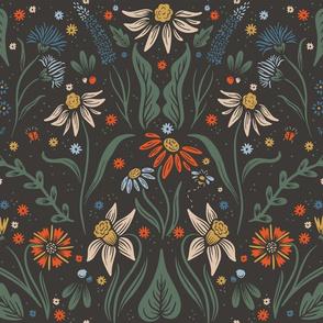 Lamb Illustration's Dainty Wildflower Pattern