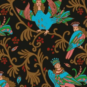 Sirin Birds