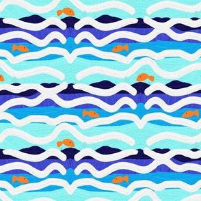 Jolynn's Goldfish Small Scale by Shari Lynn's Stitches