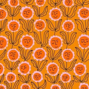 Happy Vine  Marigold