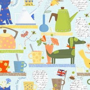 PAWSitively Tea Time!